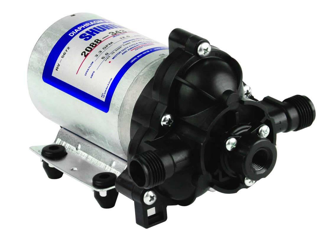 2088 343 500 Shurflo 12 Volt Electric Pump 1 2 Quot Npt X