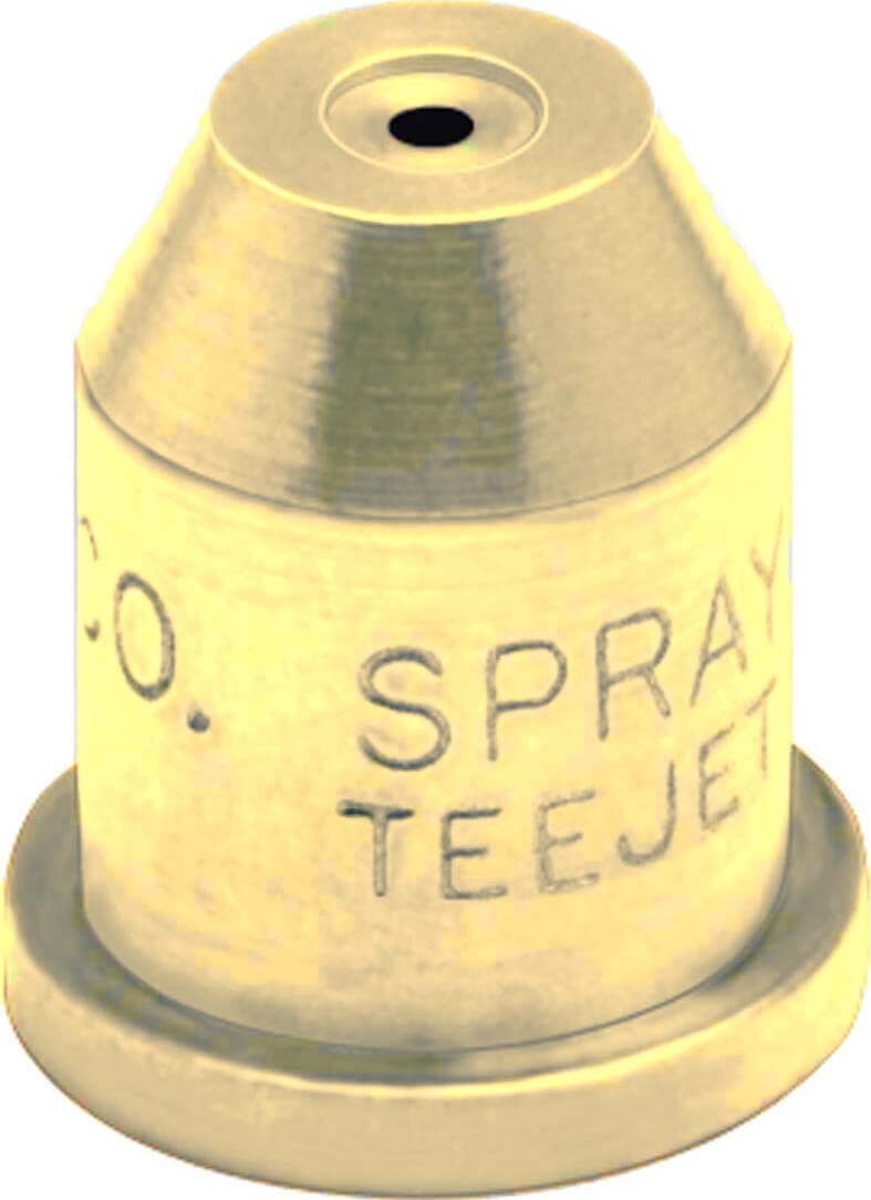 Tg teejet brass full cone spray tip nozzle