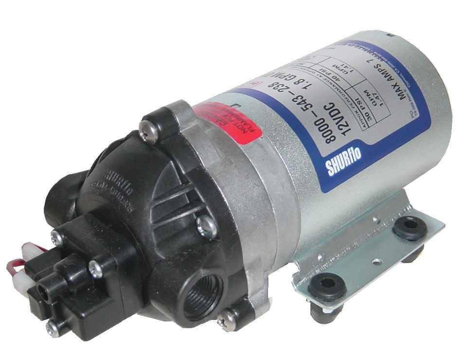 8095 902 260 Shurflo 230 Volt Electric Pump 3 8 Quot Npt X