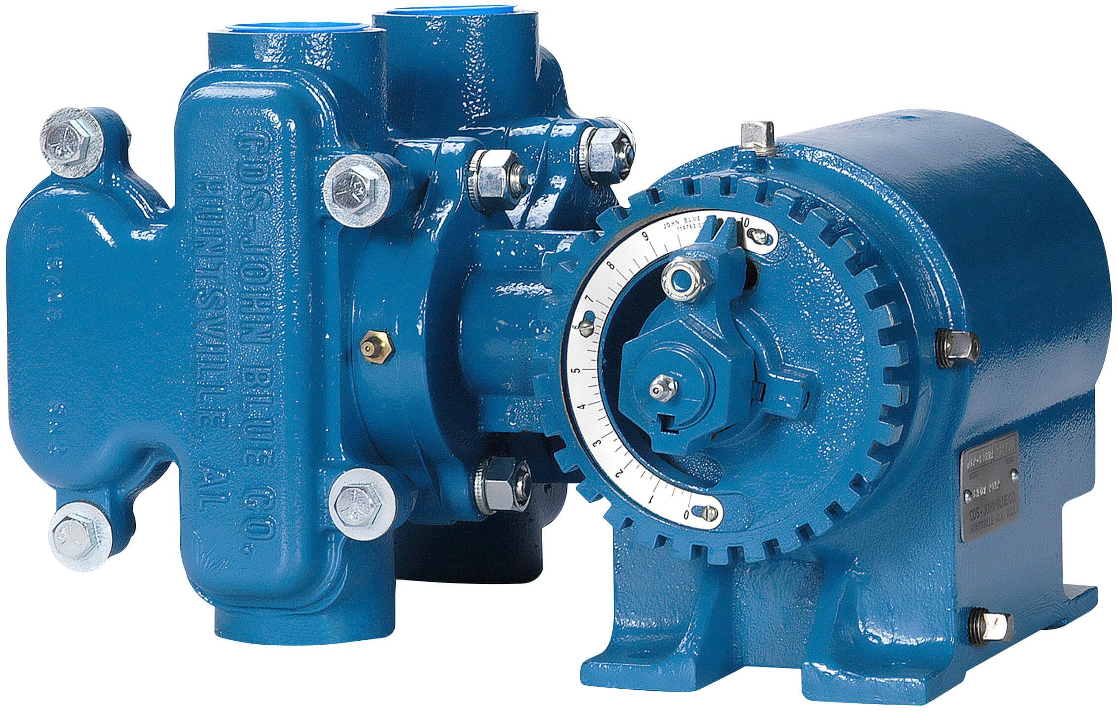 Ngp 8050 Cds John Blue Cast Iron Piston Pump 2 Quot Npt X
