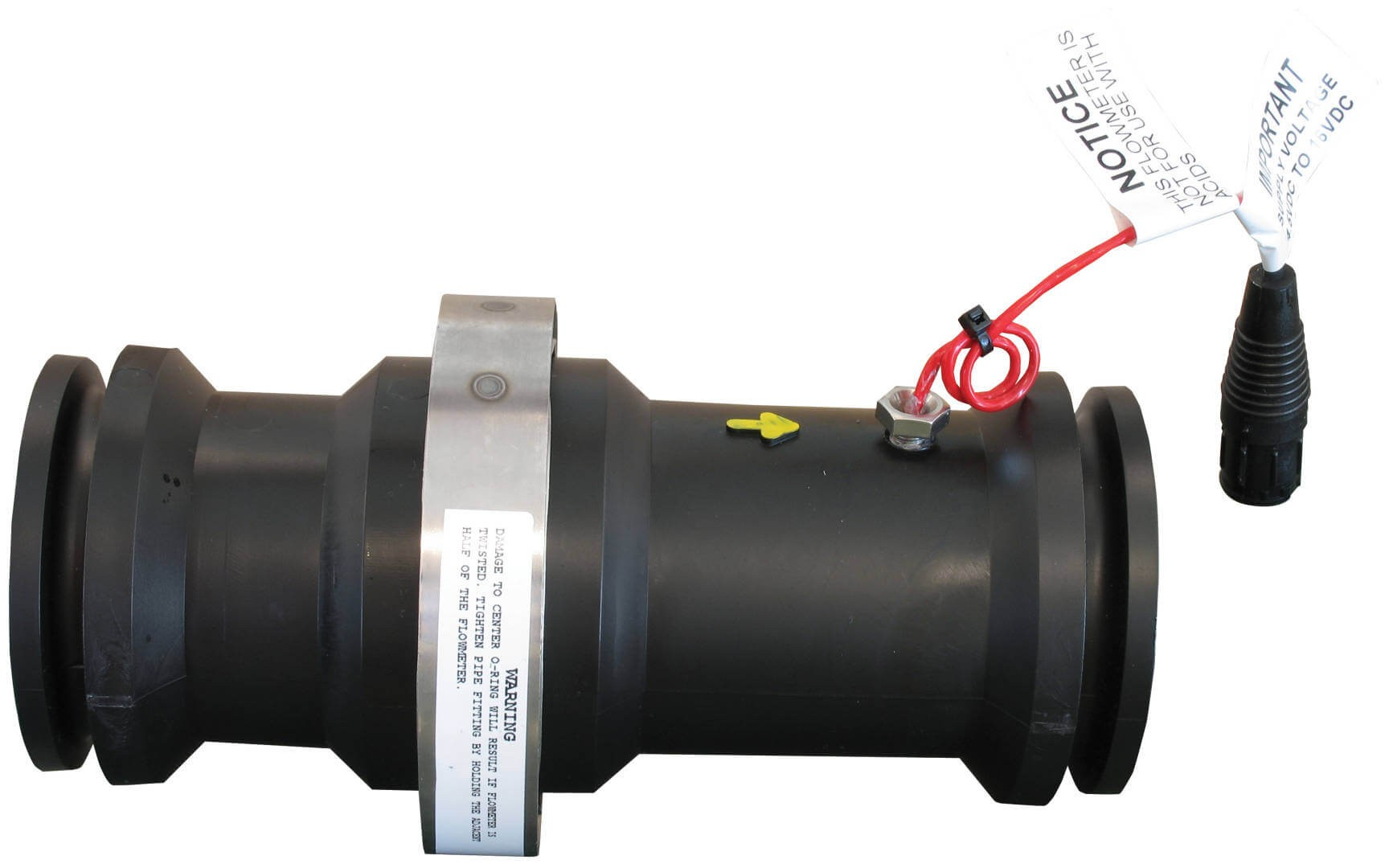 M200 Flanged Poly Flow Meter RFM 100P on