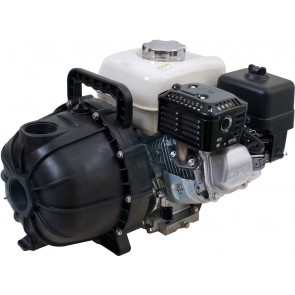 "6.5 HP Honda Gas Poly Transfer Pump with 2"" NPT Inlet x 2"" NPT Outlet"