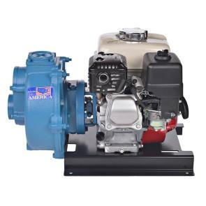 "5 HP Honda Gas Cast Iron Transfer Pump -  2"" NPT Inlet x 2"" NPT Outlet"