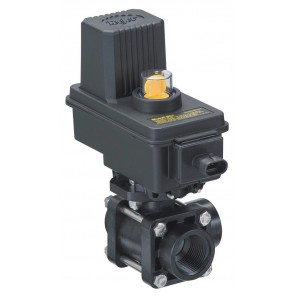 "3/4"" TeeJet DirectoValve 3-Way Electric Shutoff Ball Valve"