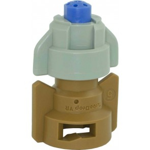 TurboDrop Blue/Brown Polyacetal-SS-EPDM Variable Rate Fertilizer Spray Nozzle