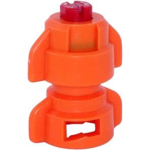 TurboDrop Orange Ceramic-Polyacetal-EPDM High Pressure Full Ceramic TwinFan Spray Nozzle