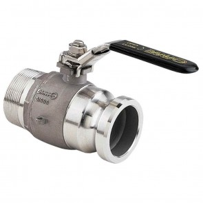 """2"""" Male Adapter Stainless Steel Ball Valve"""