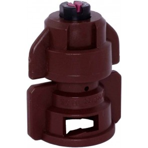 TurboDrop Brown Ceramic-Polyacetal-EPDM High Pressure Full Ceramic TwinFan Spray Nozzle