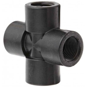 "Pipe Cross Fitting - 3/8"" FPT"