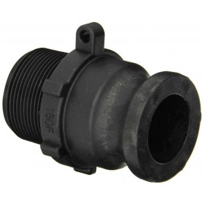"Cam Action Adapter Fitting - 1 1/2"" Male Adapter x 1 1/2"" MPT"