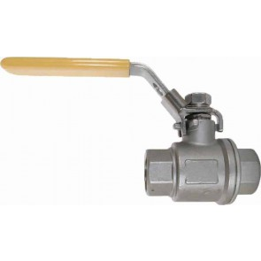"1"" FPT 316 Stainless Steel Ball Valve"
