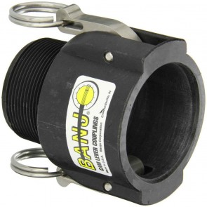 "Cam Action Coupler Fitting - 2"" Female Coupler x 2"" MPT"