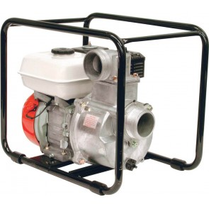 "5.5 HP Honda Gas Aluminum Transfer Pump with 3"" NPT Inlet x 3"" NPT Outlet"