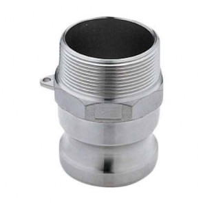 "Cam Action Adapter Fitting - 1 1/2"" MPT x 1 1/2"" Male Adapter"