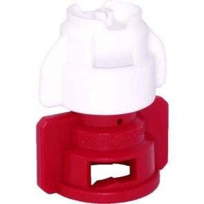 TurboDrop XL White/Red Ceramic-Polyacetal-EPDM Medium Pressure Spray Nozzle