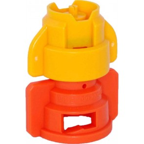 TurboDrop XL Yellow/Orange Polyacetal-EPDM Medium Pressure Spray Nozzle