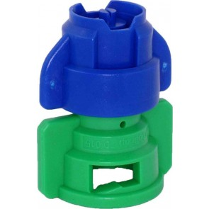 TurboDrop XL Blue/Green Ceramic-Polyacetal-EPDM Medium Pressure Spray Nozzle