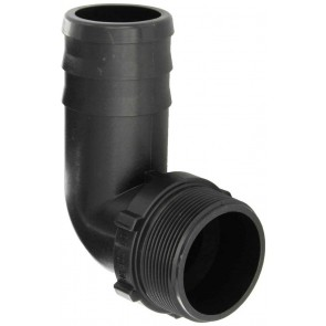 "90° Hose Barb Fitting - 3"" MPT x 3"" Hose Barb"