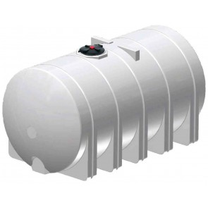 6025 Gallon Horizontal Leg Tank with Bands