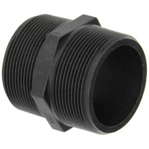 "Pipe Nipple Fitting - 2"" MPT x 2"" MPT"