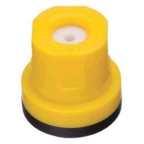 TXR ConeJet Yellow Acetal-Ceramic Hollow Cone Spray Tip Nozzle
