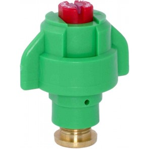 TurboDrop Orange Polyacetal-Ceramic High Pressure Semi-Ceramic Poly Hollow Cone Spray Nozzle
