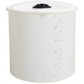 145 Gallon Plastic Vertical Storage Tank