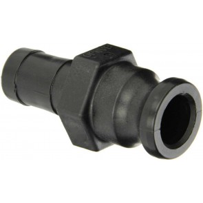 "Cam Action Adapter Fitting - 1"" Male Adapter x 1"" Hose Shank"