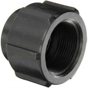 "Pipe Reducer Coupling Fitting - 1 1/2"" FPT x 1"" FPT"