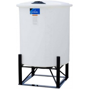 145 Gallon Cone Bottom Tank w/ Stand