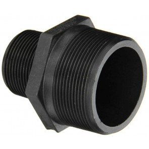 "Pipe Reducer Nipple Fitting - 2"" MPT x 1 1/4"" MPT"