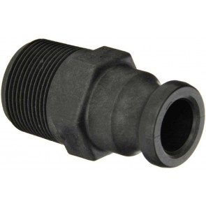 "Cam Action Adapter Fitting - 1 1/4"" Male Adapter x 1 1/4"" MPT"