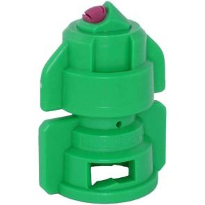 TurboDrop Green Ceramic-Polyacetal-EPDM High Pressure Full Ceramic TwinFan Spray Nozzle