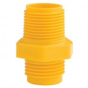 "Garden Hose Nipple Fitting - 3/4"" MPT x 3/4"" MGHT"