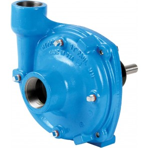 "Gear Driven Poly Centrifugal Pump with 1-1/2"" NPT Inlet x 1-1/4"" NPT Outlet"