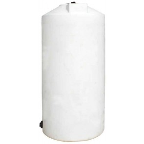 250 Gallon Plastic Vertical Storage Tank