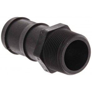 "Hose Barb Fitting - 1 1/4"" MPT x 1 1/2"" Hose Barb"
