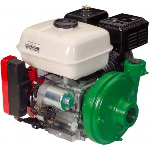 "4.8 HP Honda Gas Engine Poly Pump with 1-1/2"" Suction x 1-1/4"" Discharge"