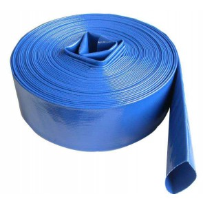 "3"" Blue Flat Lay Hose / ft"