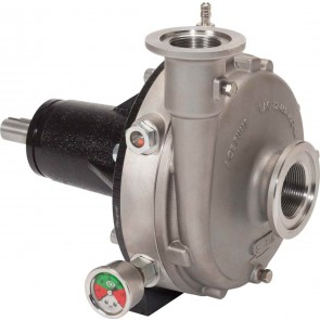 Belt Driven 316 Stainless Steel Pump with 220 Flange Suction x 200 Flange Discharge