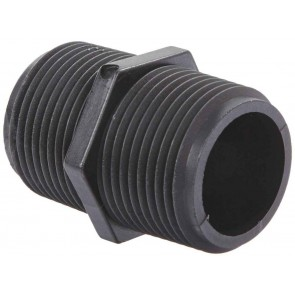 "Pipe Nipple Fitting - 1"" MPT x 1"" MPT"
