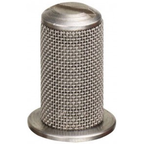 Aluminum Tip Strainer with SS Mesh & Check Valve