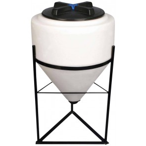 60 Gallon Inductor Cone Bottom Tank w/ Stand