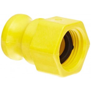 "Garden Hose Adapter Fitting - 3/4"" Male Adapter x 3/4"" FGHT"