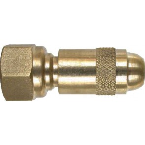 "Brass Adjustable Nozzle - 11/16"" FPS"