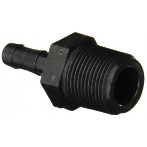 "Hose Barb Fitting - 3/4"" MPT x 3/8"" Hose Barb"