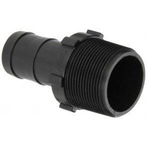 "Hose Barb Fitting - 1 1/2"" MPT x 1"" Hose Barb"