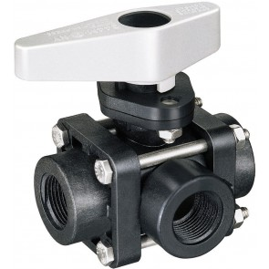 "1"" FPT Nylon Ball Valve"