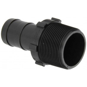 "Hose Barb Fitting - 1 1/2"" MPT x 1 1/4"" Hose Barb"