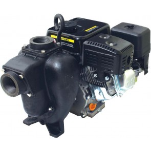 "4.8 HP Honda GX160 Gas Cast Iron Transfer Pump with 2"" NPT Inlet x 2"" NPT Outlet"